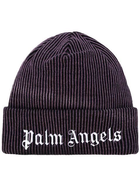 e2ce32a4461 PALM ANGELS PALM ANGELS PMLC004F184640349501 PURPLE WHITE Natural (Other)-  Wool.  palmangels  bags  polyester  wool