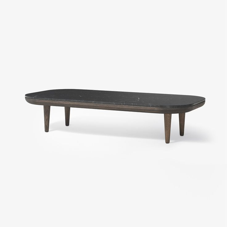 Table basse Fly marbre SC5 - Noir - And Tradition