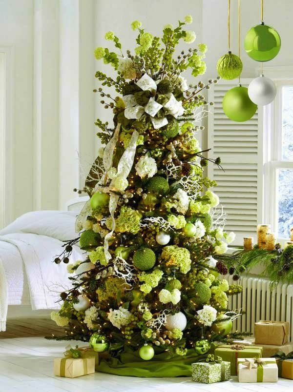 ber ideen zu tannenbaum schm cken auf pinterest christbaumst nder white xmas und. Black Bedroom Furniture Sets. Home Design Ideas