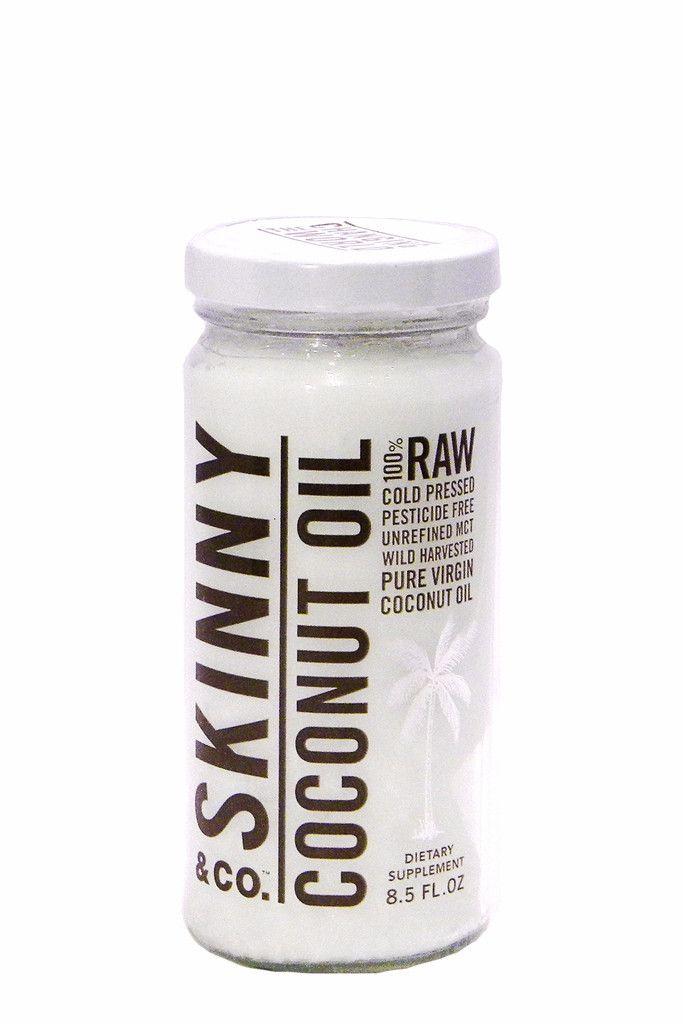 Skinny Coconut Oil 8.5oz Virgin Skinny Coconut Oil, $17