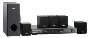 RCA RTD3133 DVD Home Theater System by RCA. $93.20. Amazon.com                 A great choice for smaller living rooms, the RCA RTD3133 5.1-channel home theater system includes a DVD player/amplifier and complete set of surround sound speakers (five satellite speakers and one passive subwoofer). It features 130 watts of total power, a digital audio input, auxiliary (AUX) line-in jacks for connecting additional audio sources (such as an iPod or other digital audio player), and i...