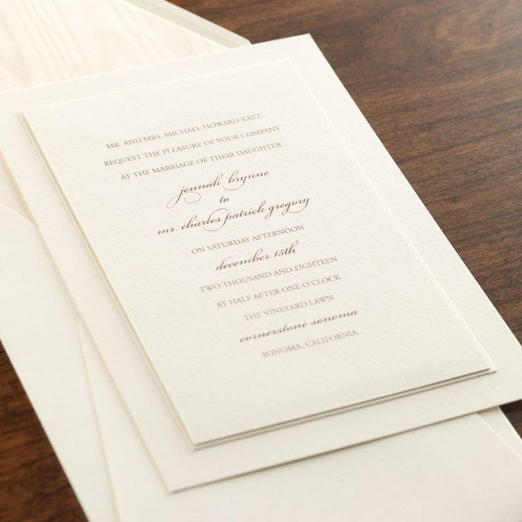 40 Best Images About TIMELESS WEDDING INVITATIONS On Pinterest | Response Cards Facebook And ...