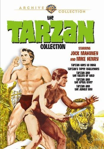 The Tarzan Collection: Starring Jock Mahoney and Mike Henry [5 Discs] [DVD]