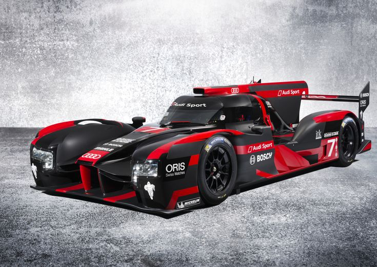 The New Audi R18 Is Here And Its Livery Is Just As Mean As The Car
