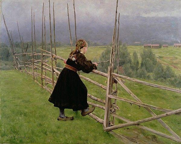 On The Plain  - Karl Fredrick Nordstrom