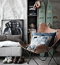 minus the denim | Inspiratie stoere #jongenskamer