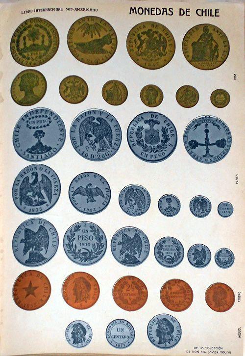Continúo aquí con estos artículos sobre folklore y numismática de Chile, serie iniciada con los nombres populares que se dan acá a moneda...