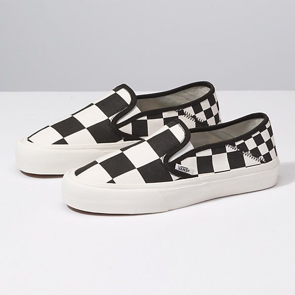 5f265cff8b3a Mega Check Slip-On SF Vans Checkerboard