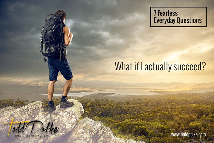 What if I actually succeed?