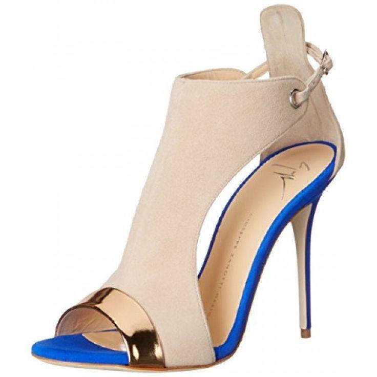Giuseppe Zanotti Women's E60263 Dress Sandal, Shooting Ramino, 7 M US - shop womens shoes, latest womens shoes, womens steel toe shoes