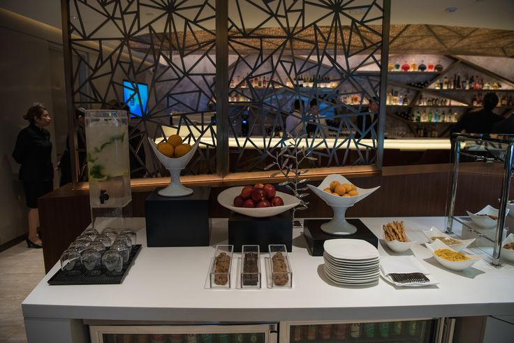 First and Business Class Lounge of Etihad Airways in Los Angeles