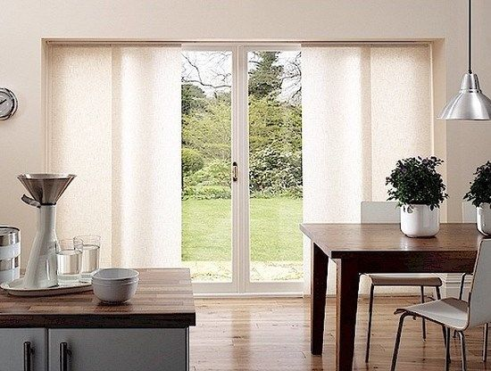 sliding door window treatments | Window Treatments for Large Windows | Some Things to Ponder