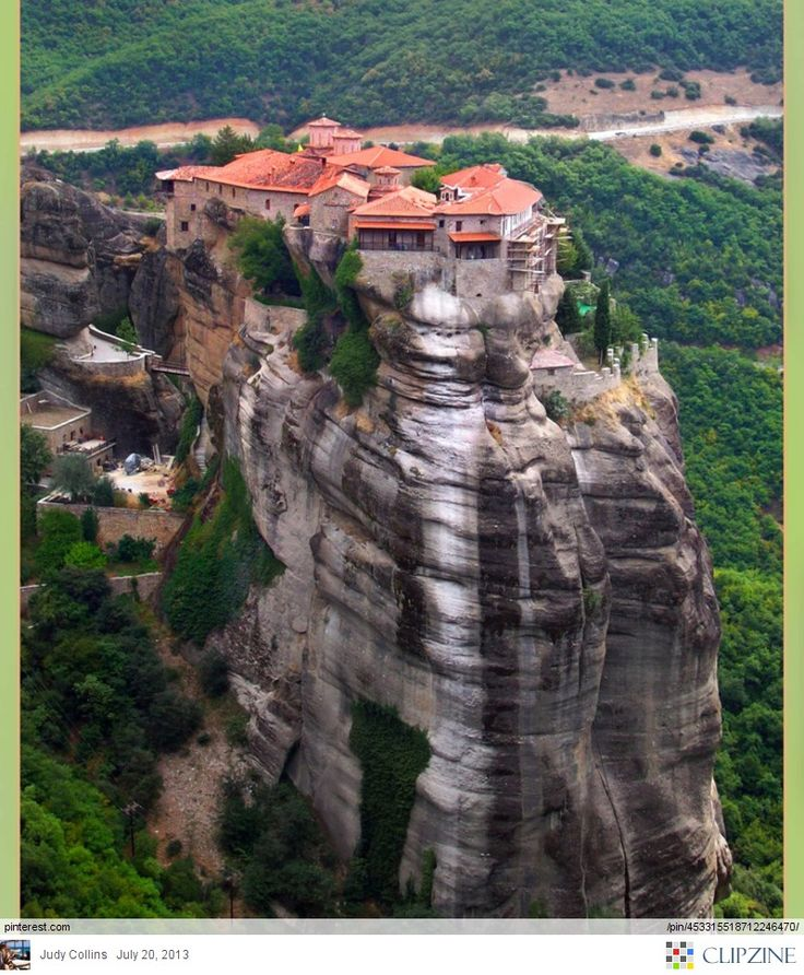 Meteora: One of my favorite places in the world!
