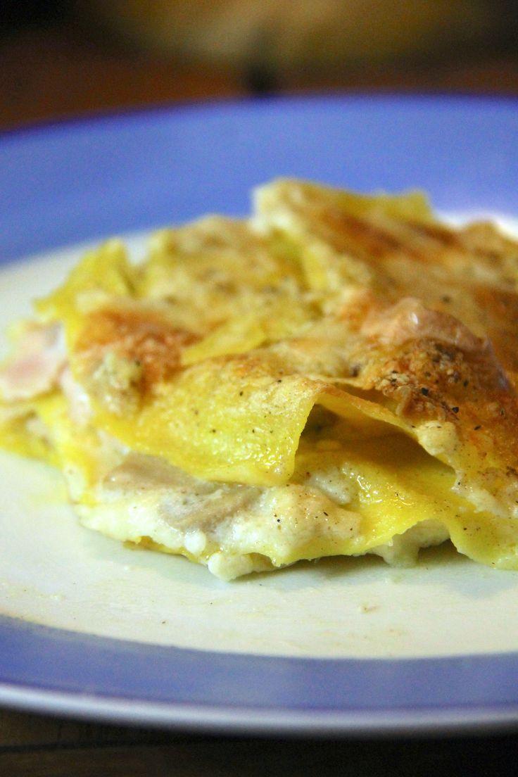 Lasagne con funghi e prosciutto - Le ricette dell'amore vero