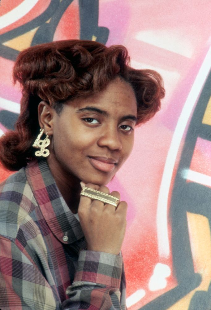 M.C. Lyte gained fame in the 80's. She was the first female rapper to release a full album. She's one of hip-hop's pioneer feminists.
