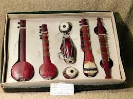 Miniature Indian Musical Instruments