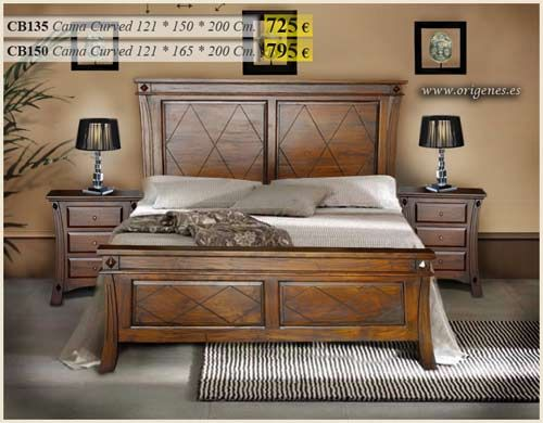 camas de madera matrimoniales rusticas buscar con google
