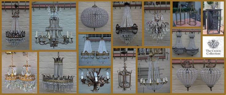 Whether you like glam with crystal pendants/rustic in wrought iron, chandeliers add a timeless elegance to any room: