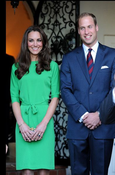 Catherine, Duchess of Cambridge and Prince William, Duke of Cambridge attend a private reception held at the British Consul-General's residence on July 8, 2011 in Los Angeles, California.