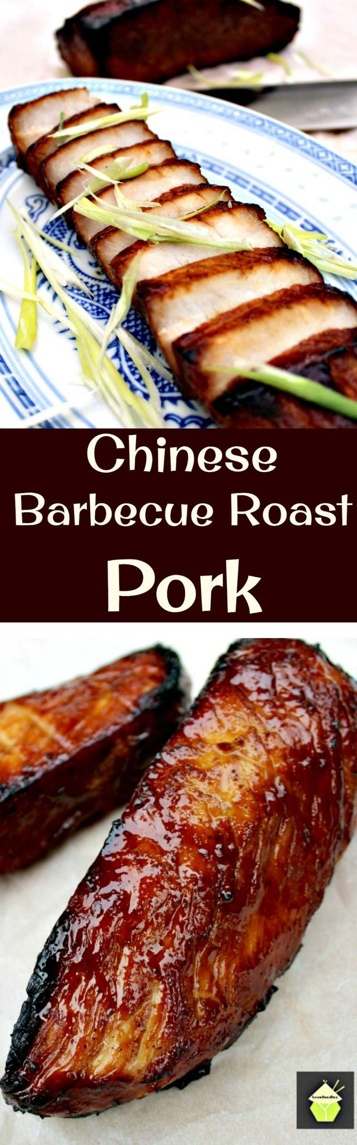 Chinese Barbecue Pork, (Char Sui Pork), is a delicious recipe, full of flavor. It's sticky, sweet and slightly caramelised and goes perfect with a bowl of noodles, fried rice or simply eaten on it's own as an appetizer! A Great dish for Chinese New Year.