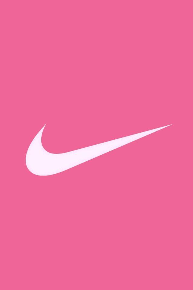 Cute Pink Cell Phone Wallpaper Nike Pink Logo Flowers Nike Wallpaper Nike Symbol