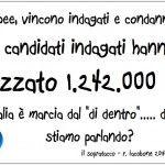 Indagati e condannati prendono 1.200.000 voti