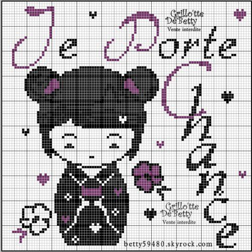 chance - luck -  point de croix - cross stitch - Blog : http://broderiemimie44.canalblog.com/