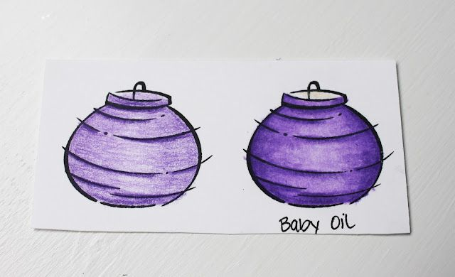 Tip: Blending Colored Pencils with Baby Oil · @ Neat and Tangled