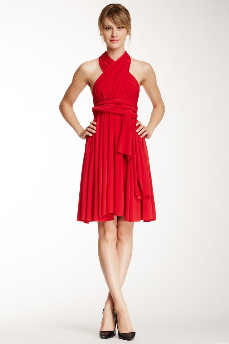 Transformer Wrap Dress : Can be worn MULTIPLE ways!