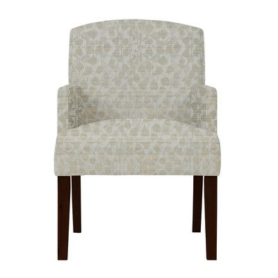Darby Home Co Keisha Gray Fabric Arm Chair