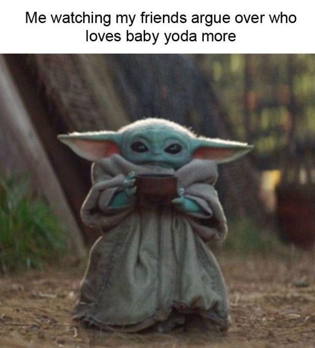 Babyyoda Tumblr Yoda Funny Yoda Meme Yoda Wallpaper