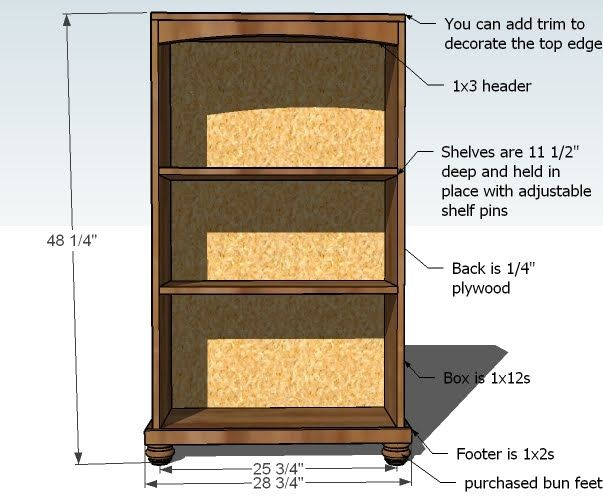 Bookcase Plans Free Woodworking - WoodWorking Projects & Plans