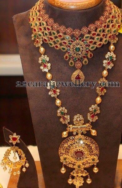 Jewellery Designs: Colorful Uncut Jewelry Designs