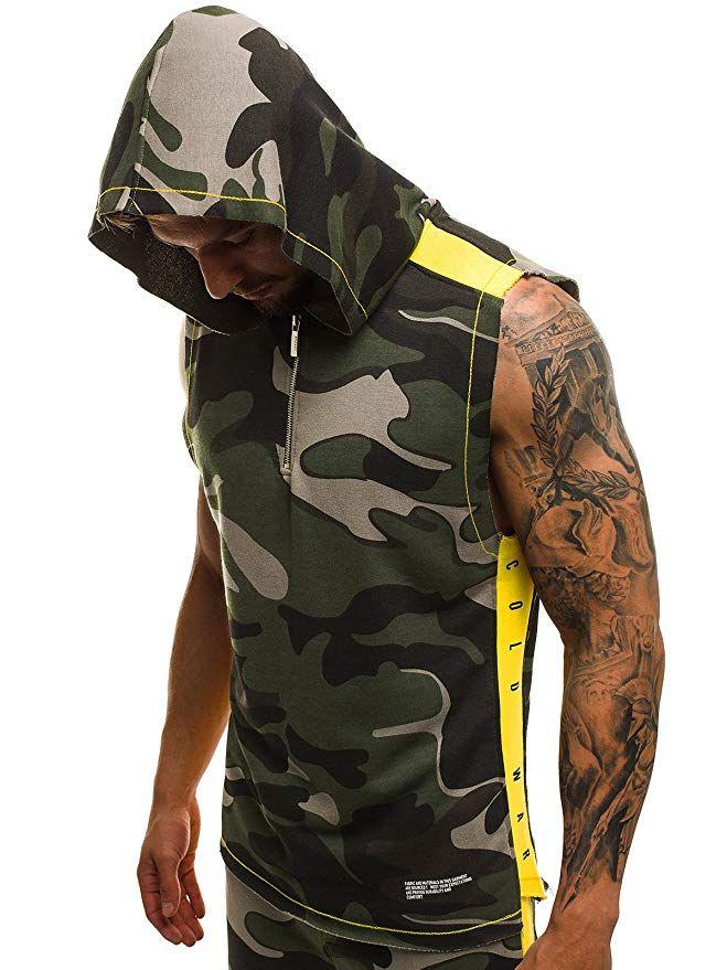 quality design c897a 1d8bc OZONEE Mix Herren Tanktop Tank Top Tankshirt T-Shirt ...