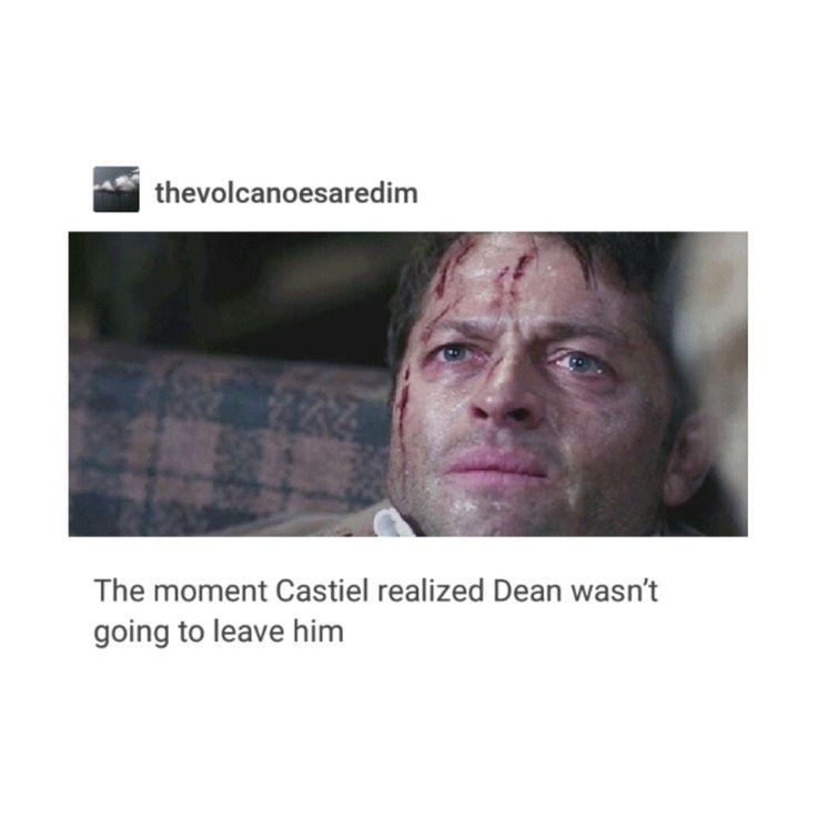 supernatural tumblr textpost destiel castiel cas dean winchester