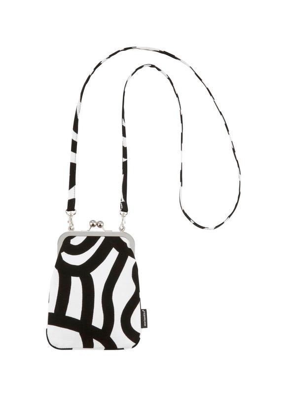 Rimmi Joonas frame bag, pattern design by Maija Isola and Kristina Isola for Marimekko