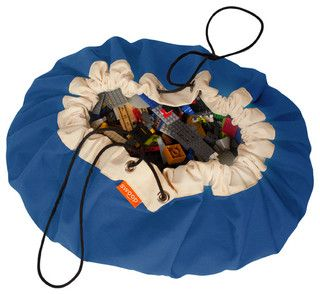 Swoop Bag, True Blue - contemporary - toy storage - by Swoop Bags