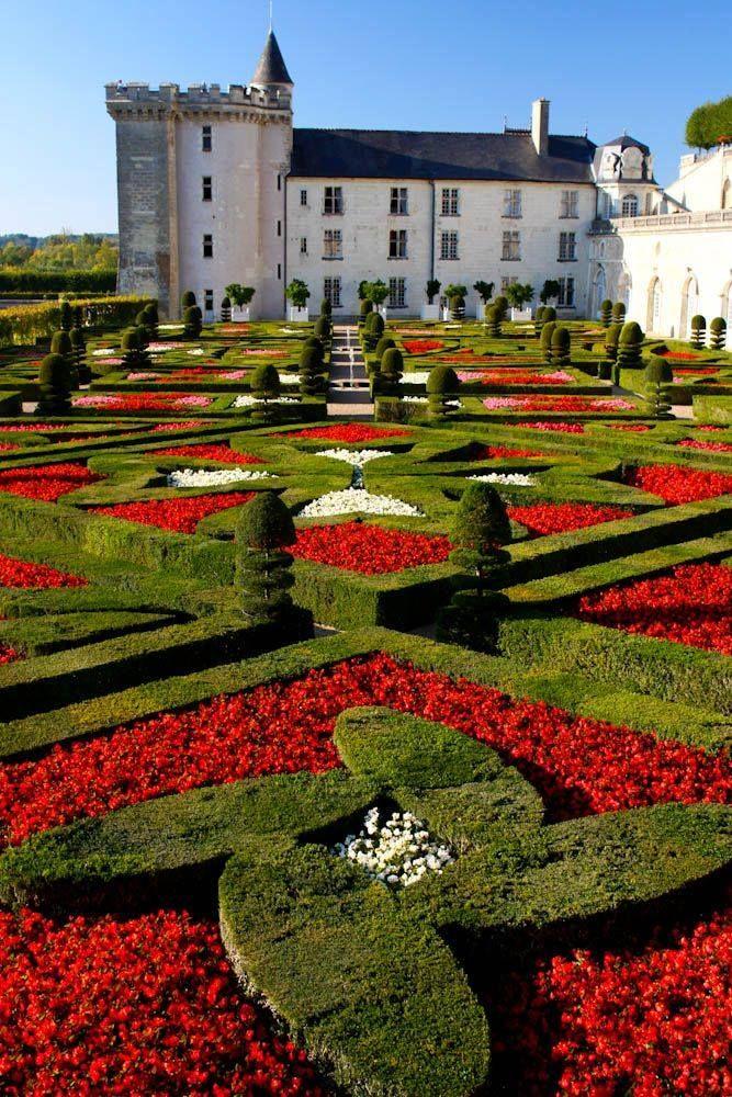 Jardin du château de Villandry Beautiful places, Castle