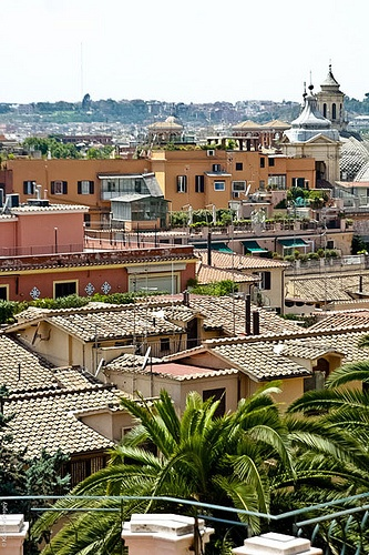 Roma roof tops