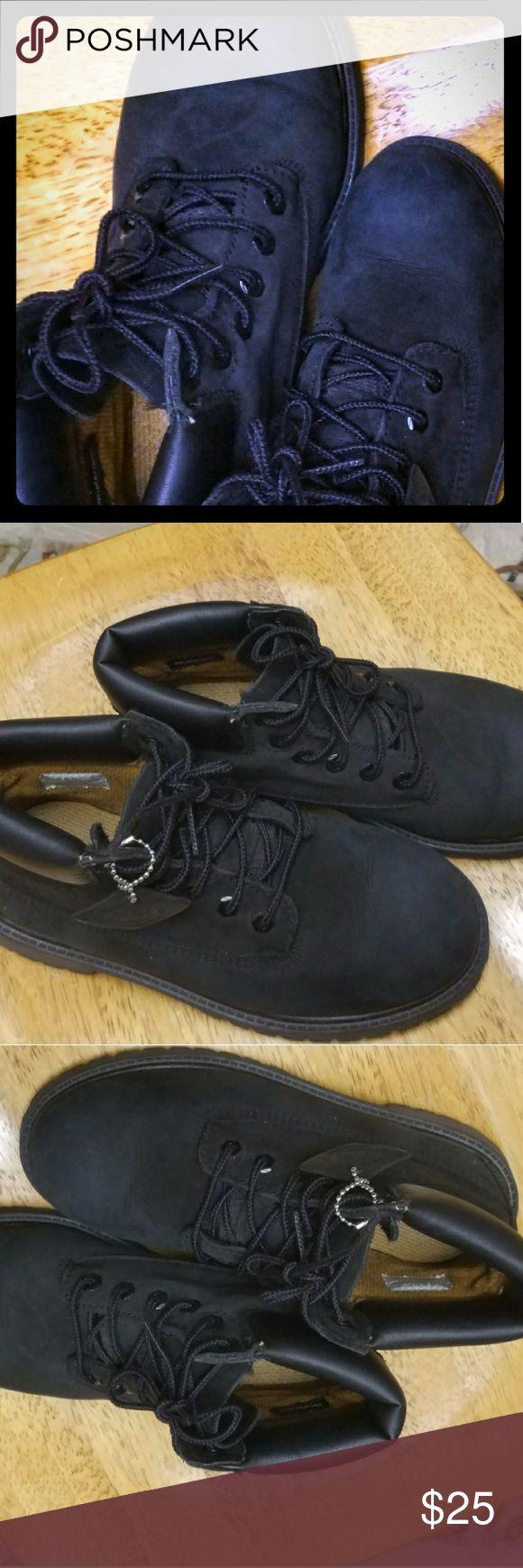 I just added this listing on Poshmark: Boys Timberland Black Boots NWT Size 2 $25.00. #shopmycloset #poshmark #fashion #shopping #style #forsale #Timberland #Other