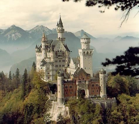 Neuschwanstein Castle. Inspired Sleeping Beauty's castle. Must see in person!