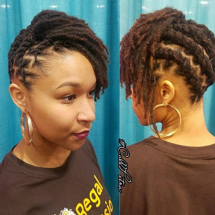 Shorter Locs Popping Shortlocstyles Motivationmonday Locs Locstyles Atllocs Dreads D Short Locs Hairstyles Locs Hairstyles Dreadlock Hairstyles