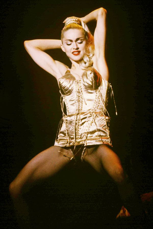 The 35 Most Iconic On-Stage Looks Of All Time - That Gaultier corset? Duh.
