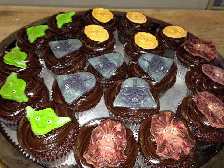 Star Wars cupcakes #nerdsforthewin