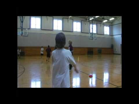 """""""Random Grid Passing CATCH Activity"""" - P.E. Game #physical #exercise"""