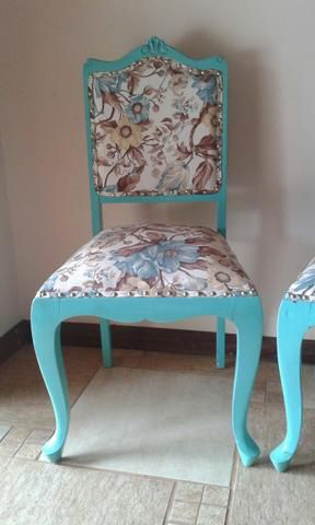 Cadeira antiga reformada