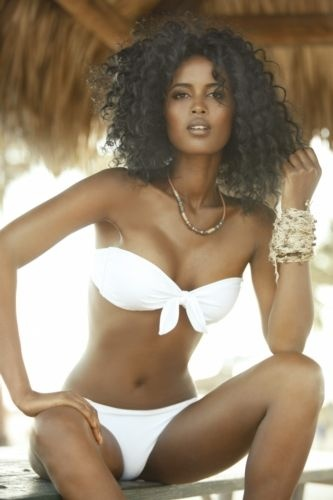 Essential White Bikini For Summer - Auset Lah