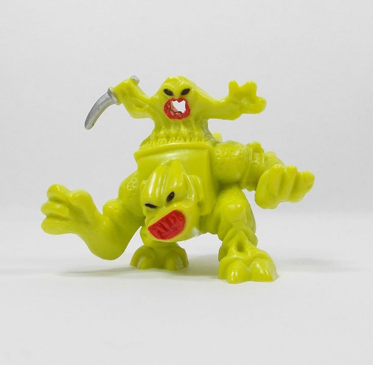 Monster In My Pocket - Space Aliens - 184 Radioactive Uranian Rodent B - Figure