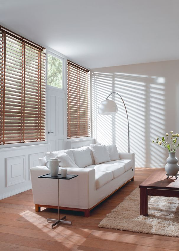 Timber Venetians - If you appreciate the look and feel of natural timber, then LUXAFLEX® COUNTRY WOODS® Venetian Blinds are the perfect choice.