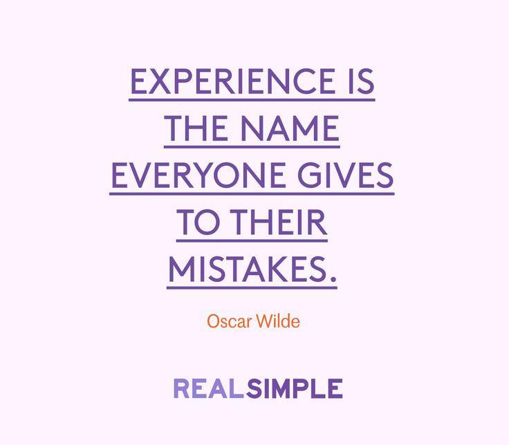 Inspiring words from Oscar Wilde.